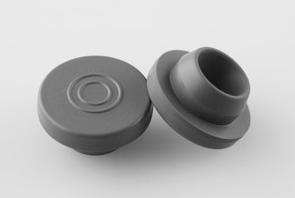 Halogenated Butyl Rubber Stopper for Injectable Sterile Powder