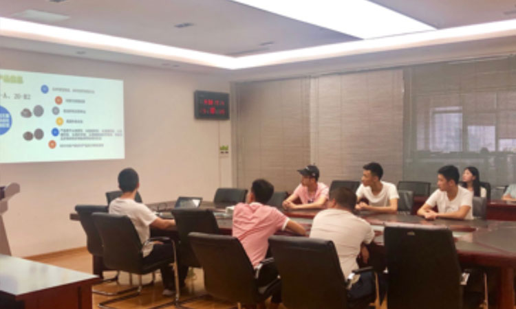 Welcome the Students from Qingdao Technicians College